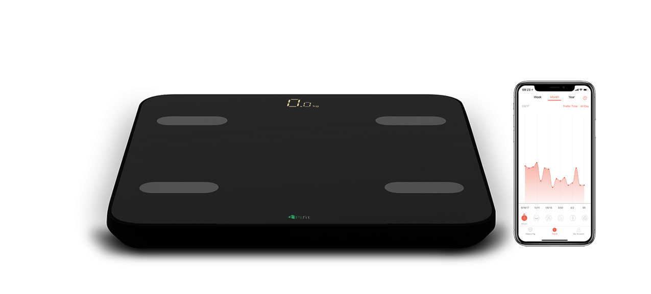 PiFit Smart Body Fat Scale - design, features and images